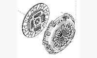 Комплект сцепления для 1.6 (H4M) 4x2 КПП JR5 (5-ступ.) оригинал арт. 302054100R
