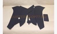 Текстильные вкладыши в карманы передних дверей (Lada Granta)