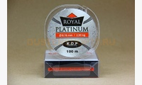 Леска KDF Royal Platinum 0,16 мм, 100 метров, 2,93 кг