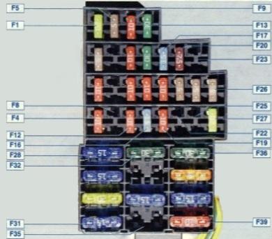 Схема печки рено дастер