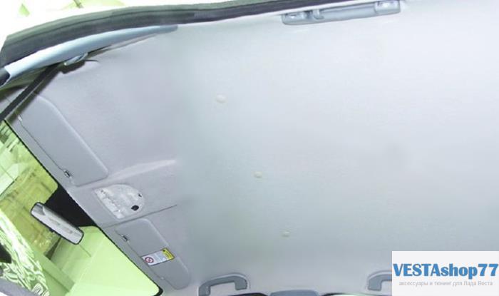 Как снять обшивку потолка Lada Vesta