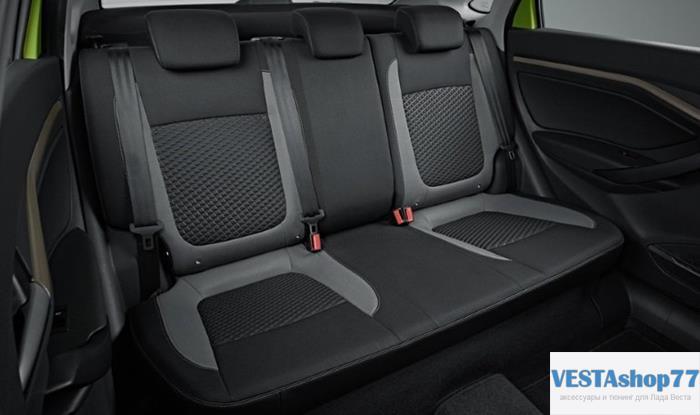 Как снять передние сиденья и задний диван Lada Vesta